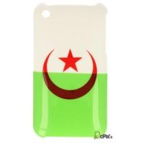 iPhone 3G et 3GS : coque drapeau Algerie