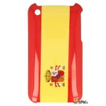 iPhone 3G et 3GS : coque drapeau Espagnol