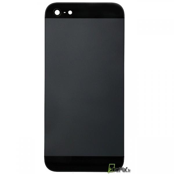 iphone 5 chassis coque arriere ardoise et noir