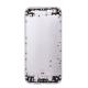 iPhone 6 : coque arrière Argent (gris) - pièce détachée