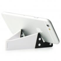 Support pliable pour smartphone blanc- accessoire