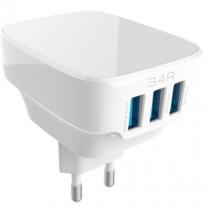 Chargeur 3 ports USB smartphones et tablettes