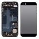 chassis arrière iPhone 5S complet Gris Sideral