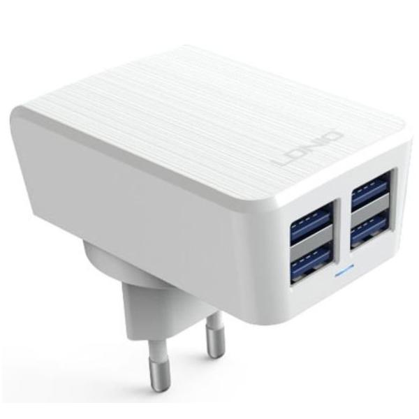 Chargeur 4 ports USB smartphones et tablettes