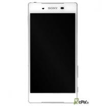 Vue de face Ecran complet blanc Sony Xperia Z5 E6603 et E6653