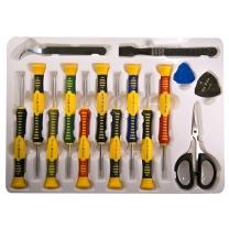 Kit 15 outils de réparation smartphones et tablettes