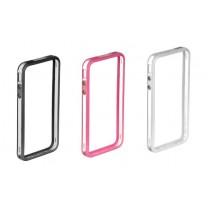 iPhone 4 / 4S : Bumper coloré transparent - accessoire