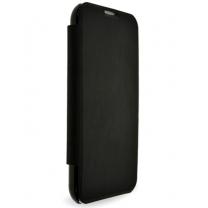 Galaxy Note 2 : Etui cover intégral noir - accessoire