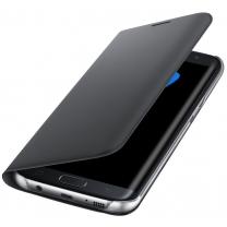 Etui Flip noir original Samsung Galaxy S7 EDGE SM-G935F
