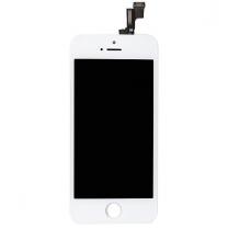 iPhone SE : Ecran Blanc LCD et vitre tactile assemblés - pièce détachée