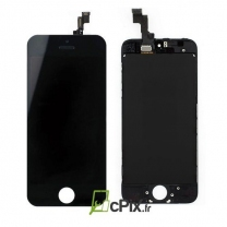 iPhone SE : Ecran Noir LCD et vitre tactile assemblés - pièce détachée