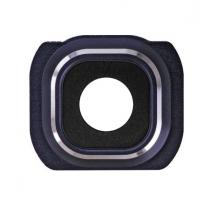 Galaxy S6 : Support Noir pour lentille appareil photo arrière