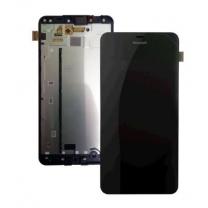 Microsoft Nokia Lumia 640 : Ecran noir avec vitre tactile sur châssis