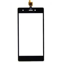 Wiko Rainbow Pulp 4G : vitre tactile noire