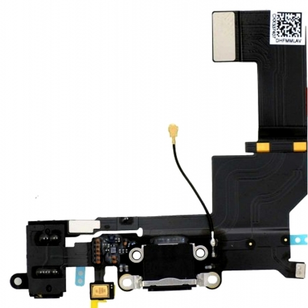 iPhone SE : Connecteur de charge Noir - pièce détachée