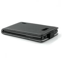 Galaxy S7 SM-G930F : étui de protection noir à rabat