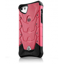 iPhone 5C : iTskins Coque Rose / noire Inferno