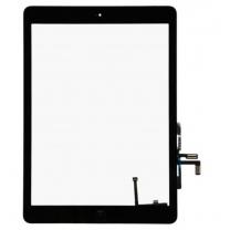 Complet Vitre tactile noire iPad Air - pièce détachée
