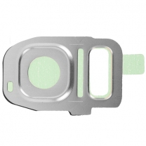 Galaxy S7 et S7 Edge : Support métal pour vitre de protection appareil photo arrière