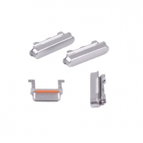 kit de 4 boutons gris metal iPhone 6 : Power, Volume, Mute
