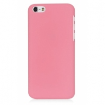 iPhone 5C : Coque rose rigide