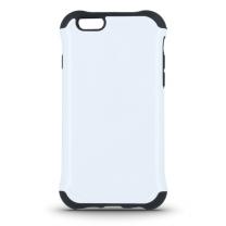 iPhone 6 et 6S : coque antichoc blanche et noir