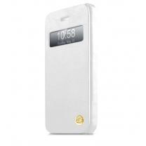 iPhone 5/5S/SE : Etui à clapet itskins visionary blanc