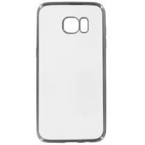 Coque gel souple transparente et noire pour Galaxy S7 EDGE SM-G935F