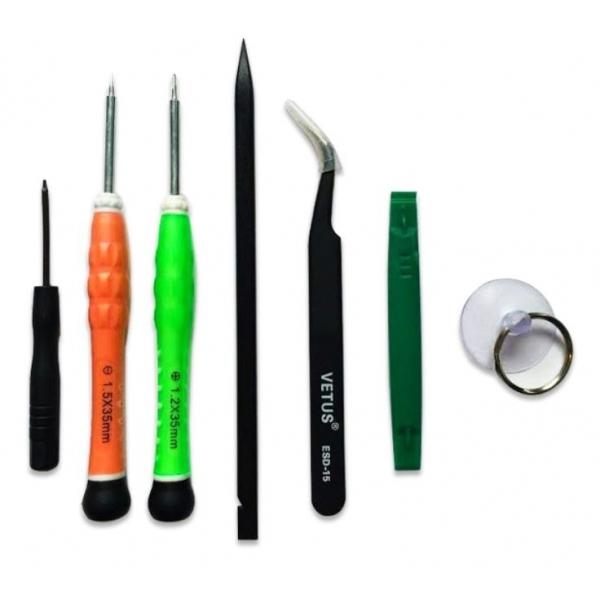 Kit de r paration pour cran iphone 6 blanc ecran - Kit de reparation baignoire acrylique ...