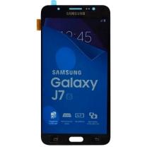 Ecran noir + vitre tactile assemblés pour Samsung Galaxy J7 SM-J710 (2016)