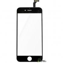 iPhone 6 : Vitre tactile Noire seule de remplacement