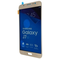 Galaxy J7 SM-J710 (2016) : Ecran Or + vitre tactile