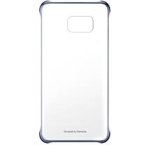 Galaxy S7 EDGE SM-G935F : Coque rigide transparente et bleu métal