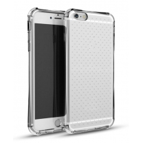 iPhone 5 / 5S / SE : Coque Shock gel transparent