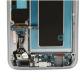 Galaxy S7 EDGE SM-G935F Argent (silver) : Partie basse de la façade arrière