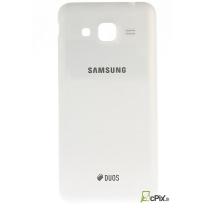 Galaxy J3 2016 SM-J320F : Cache batterie Blanc Officiel Samsung