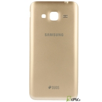 Galaxy J3 2016 SM-J320F : Cache batterie Or Gold Officiel Samsung