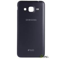 Galaxy J3 2016 SM-J320F : Cache batterie Noir Officiel Samsung