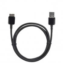 Câble Noir USB 3 pour Samsung Galaxy S5 et Note 3