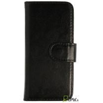 iPhone 5 / 5S : étui porte cartes noir - accessoire