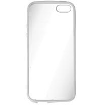 IPHONE 5 / 5S / SE : Coque rigide transparente et blanche