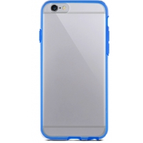 iPhone 5 / 5S / SE : coque semi-rigide bleue