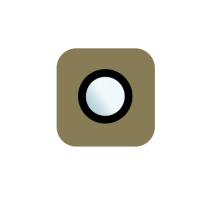 Galaxy S6 et S6 Edge : Cache lentille appareil photo arrière Or