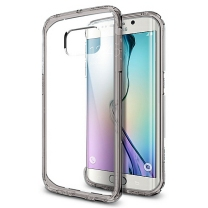 Galaxy S6 EDGE SM-G925F : Coque en TPU gel transparent et grise