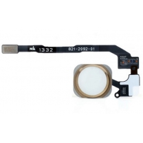 iPhone 5S et SE : Nappe complète avec bouton Home Or Gold- pièce détachée