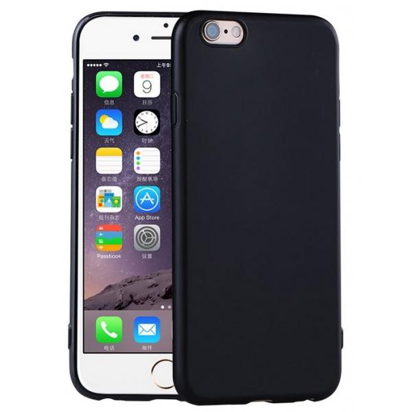 iphone 8 coque silicone noir