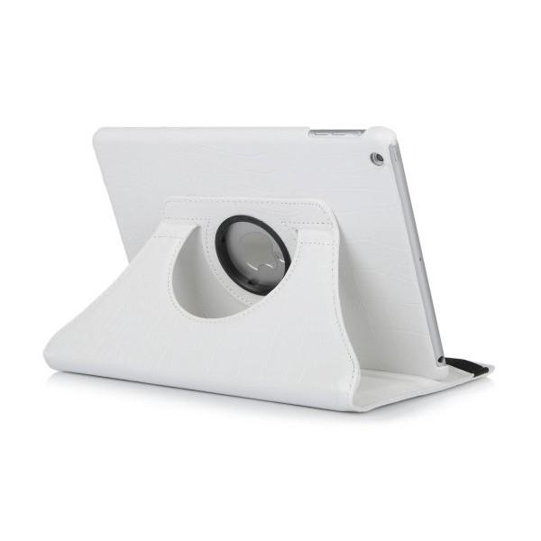 etui 360 c blanc pour ipad air 2 fournisseur d. Black Bedroom Furniture Sets. Home Design Ideas