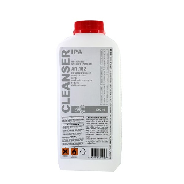 Cleanser Ipa 1l Nettoyant Isopropanol Carte électronique Iphone Ipad Ipod Ou Samsung Galaxy