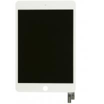 iPad mini 4 : Ecran complet blanc - afficheur et vitre tactile