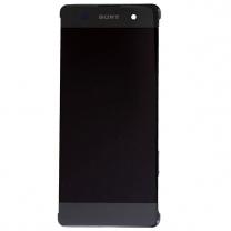 Sony XPERIA XA F3111 : Ecran complet LCD + Vitre tactile Noir (façade avant)